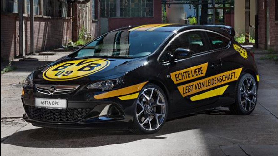 Opel è sponsor del Borussia Dortmund