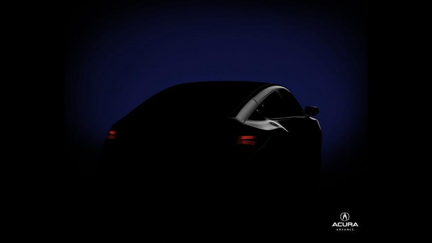 Acura: i primi teaser del nuovo SUV-Coupè