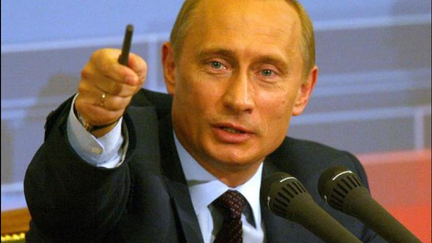 Crisi Ucraina: Putin fa tremare l'industria dell'auto