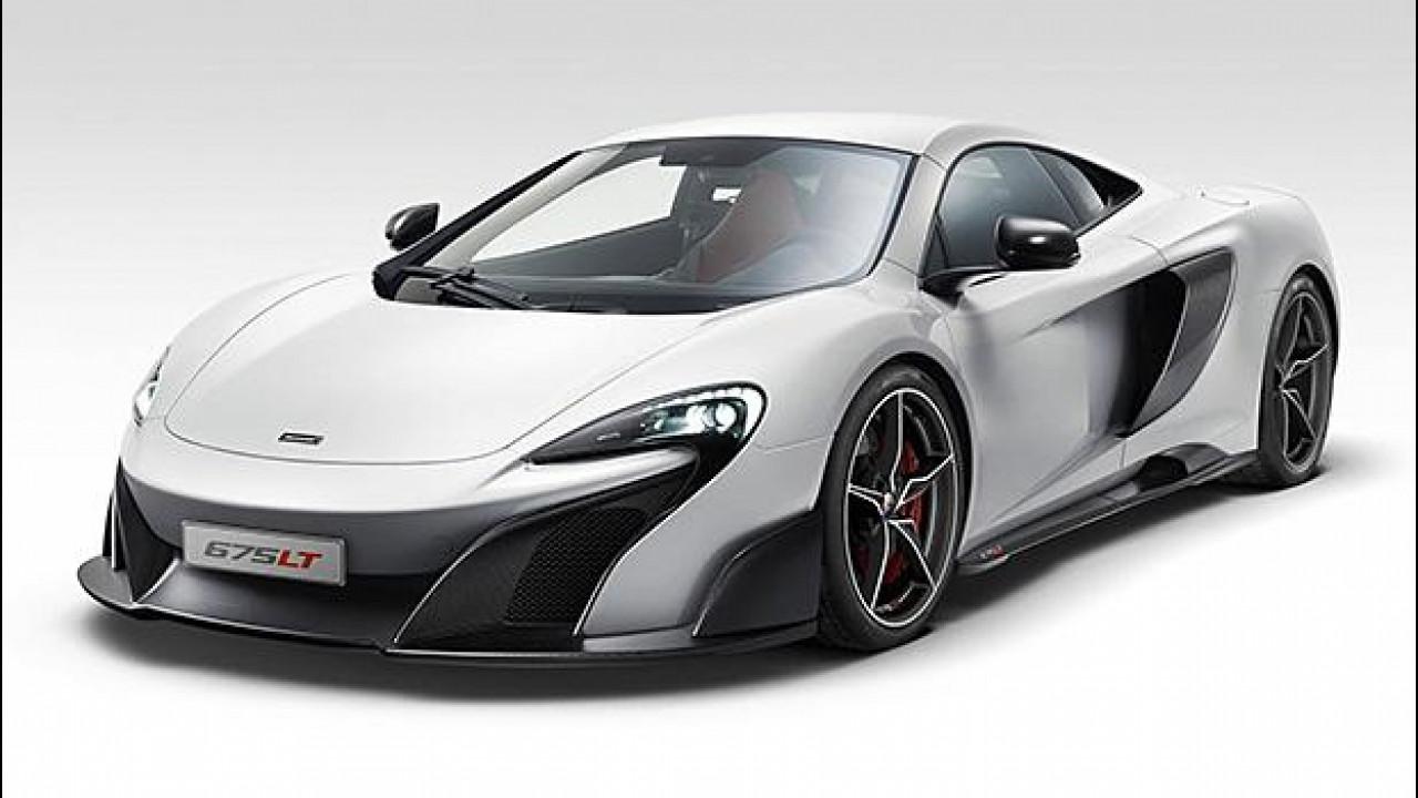 [Copertina] - McLaren 675LT, leggera da paura
