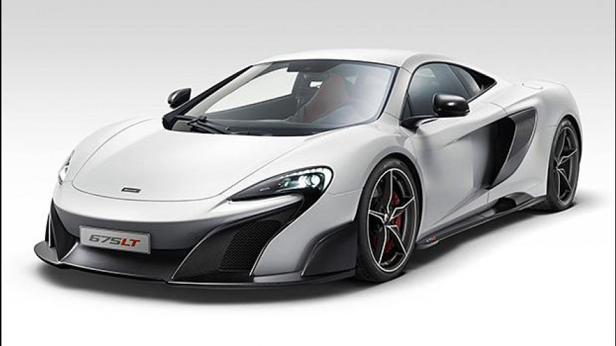 McLaren 675LT, leggera da paura