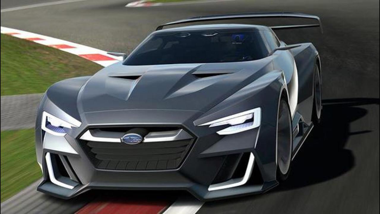 [Copertina] - Subaru Viziv GT Vision, 591 CV per Gran Turismo 6 [VIDEO]