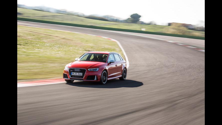 Nuova Audi RS3 Sportback, ora ha 367 CV!