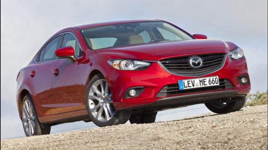 Mazda6, abbasso i consumi