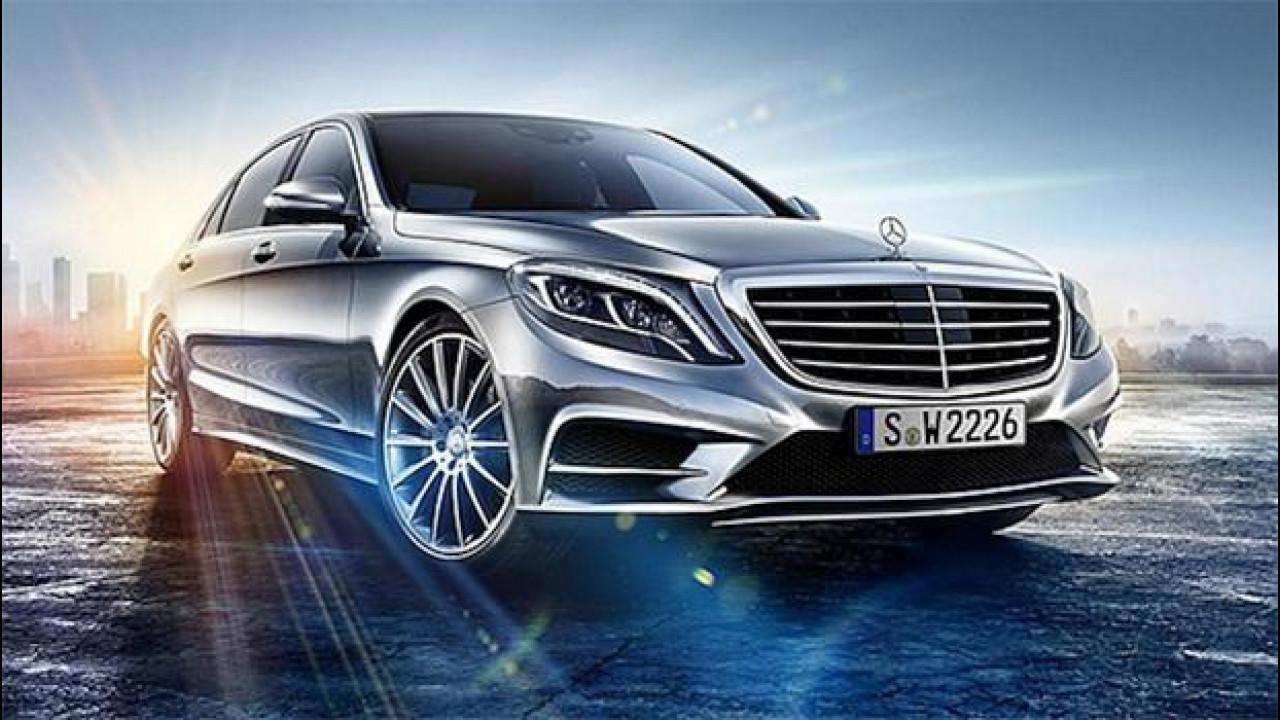 [Copertina] - Nuova Mercedes Classe S, la prima foto ufficiale