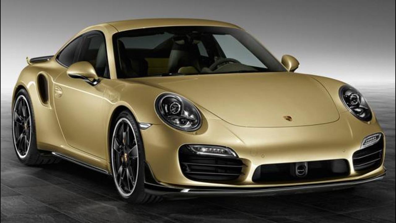 [Copertina] - Porsche 911 Turbo e 911 Turbo S, nuovo Aerokit ufficiale
