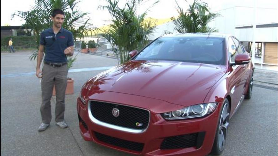 Jaguar XE: piacere di conoscerti, auto d'alluminio
