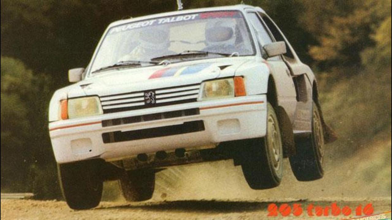 [Copertina] - Peugeot 205 Turbo 16, gli artigli del Leone nei rally