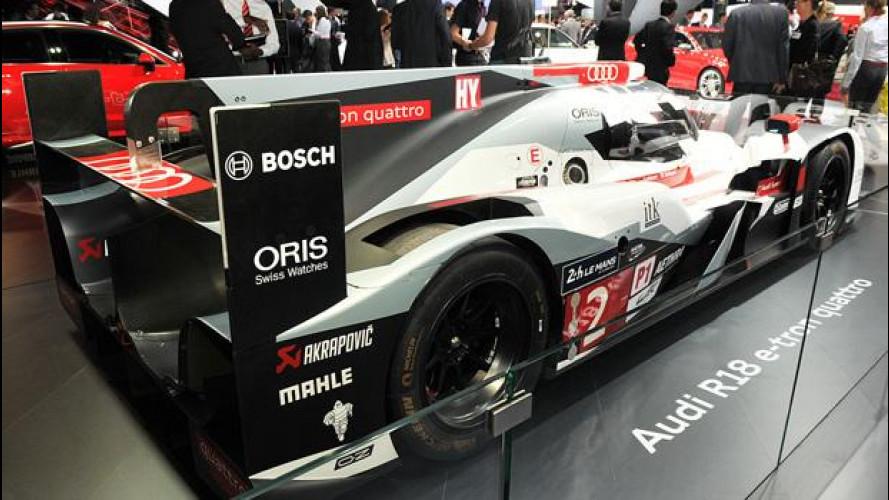 Salone di Parigi: Audi e-tron, la tecnologia di Le Mans sulle auto stradali?