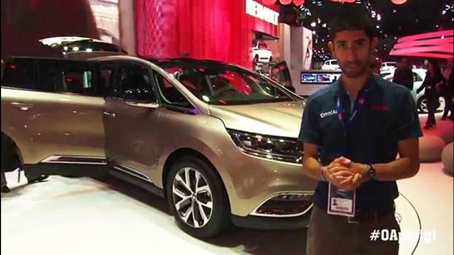 Nuovo Renault Espace, un futuro da 4x4