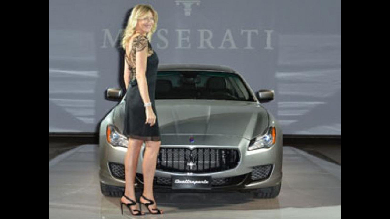 [Copertina] - Nuova Maserati Quattroporte, serata VIP a Milano
