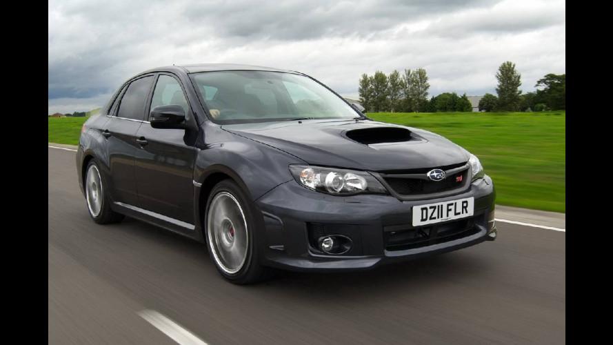 Subaru Impreza WRX STI: 320 CV per gli inglesi