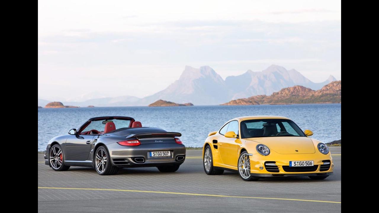 Porsche 911 Turbo restyling