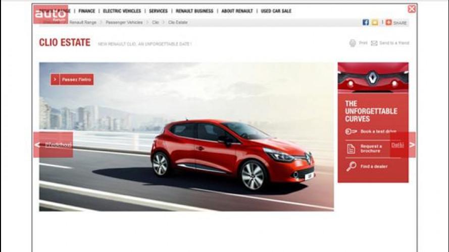 Nuova Renault Clio: la prima foto sfuggita in rete