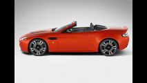 Aston Martin V12 Vantage Roadster, prime foto dalla rete