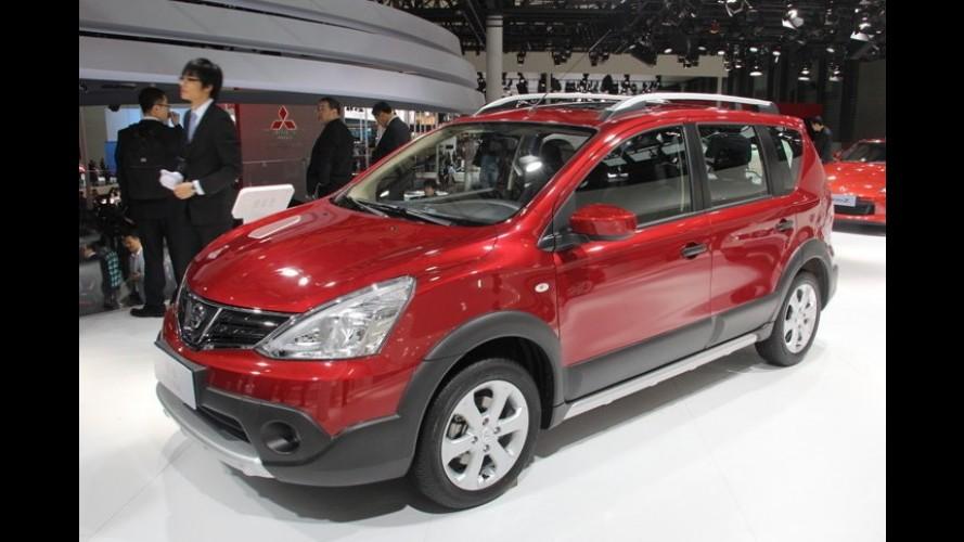 Salão de Xangai: Nissan Livina reestilizado à moda chinesa