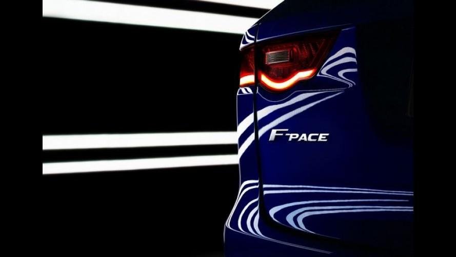 Jaguar explica razão do nome F-Pace para novo SUV rival do Macan