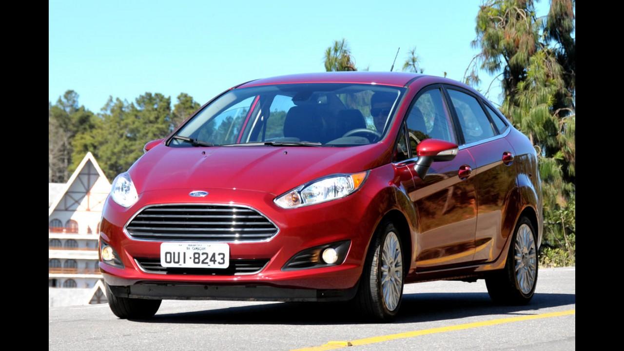 New Fiesta Sedan 2014 vem recheado e tem preços entre R$ 49.990 e R$ 58.990