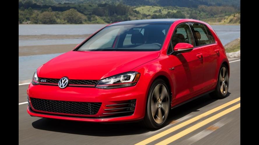"""VW Golf vai bem no temido """"small overlap"""" e alcança nota máxima no IIHS"""