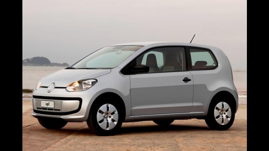 VW up! ganha R$ 4 mil de desconto em promoção exclusiva para SP