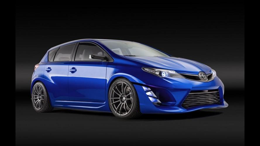 Scion iM Concept é arma da Toyota para brigar com Golf e Focus nos EUA