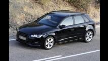 Flagra: Audi A3 Sportback sem camuflagem na Europa