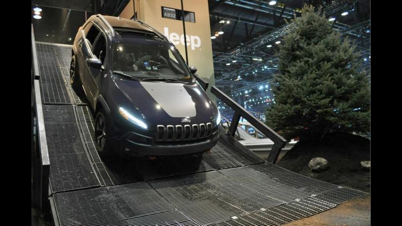 Jeep vai trazer pista off-road para os visitantes do Salão do Automóvel