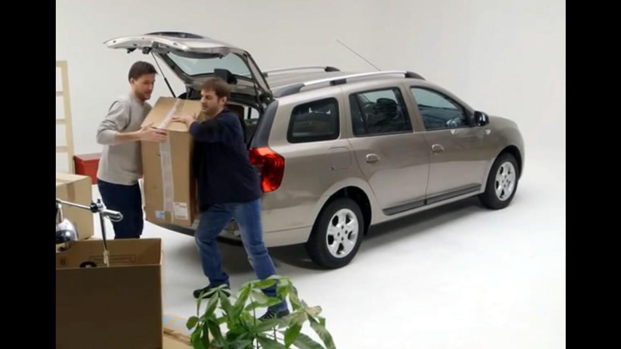 Vídeo: Dacia mostra espaço e praticidade do novo Logan MCV