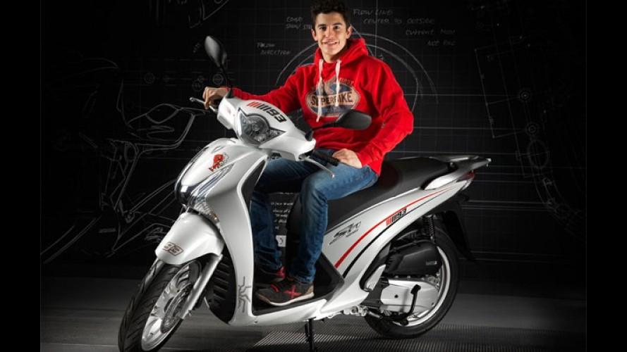 Honda lança edição especial de scooter inspirada em 'Marc Márquez'