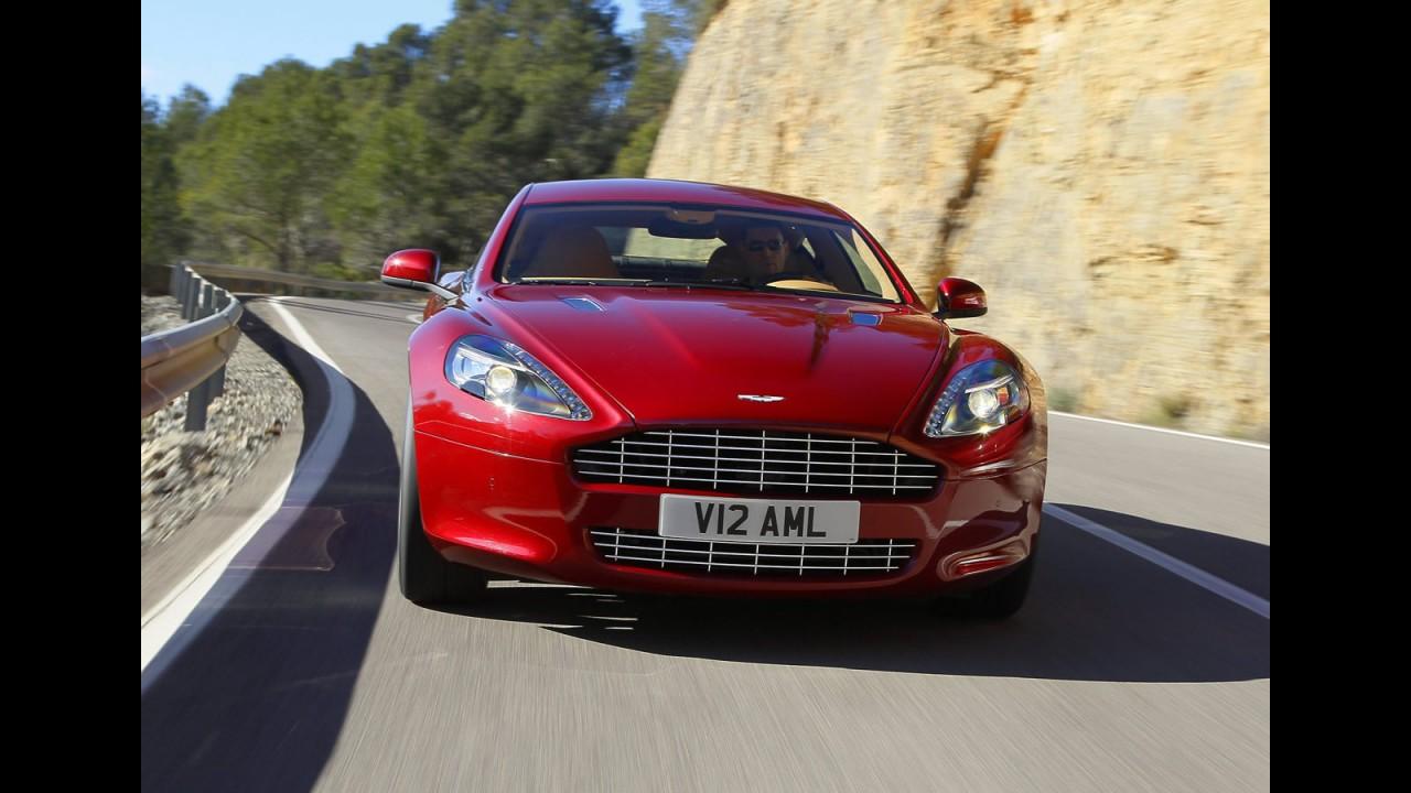 Primeiro Aston Martin Rapide E Produzido Na Austria Veja Fotos Photo