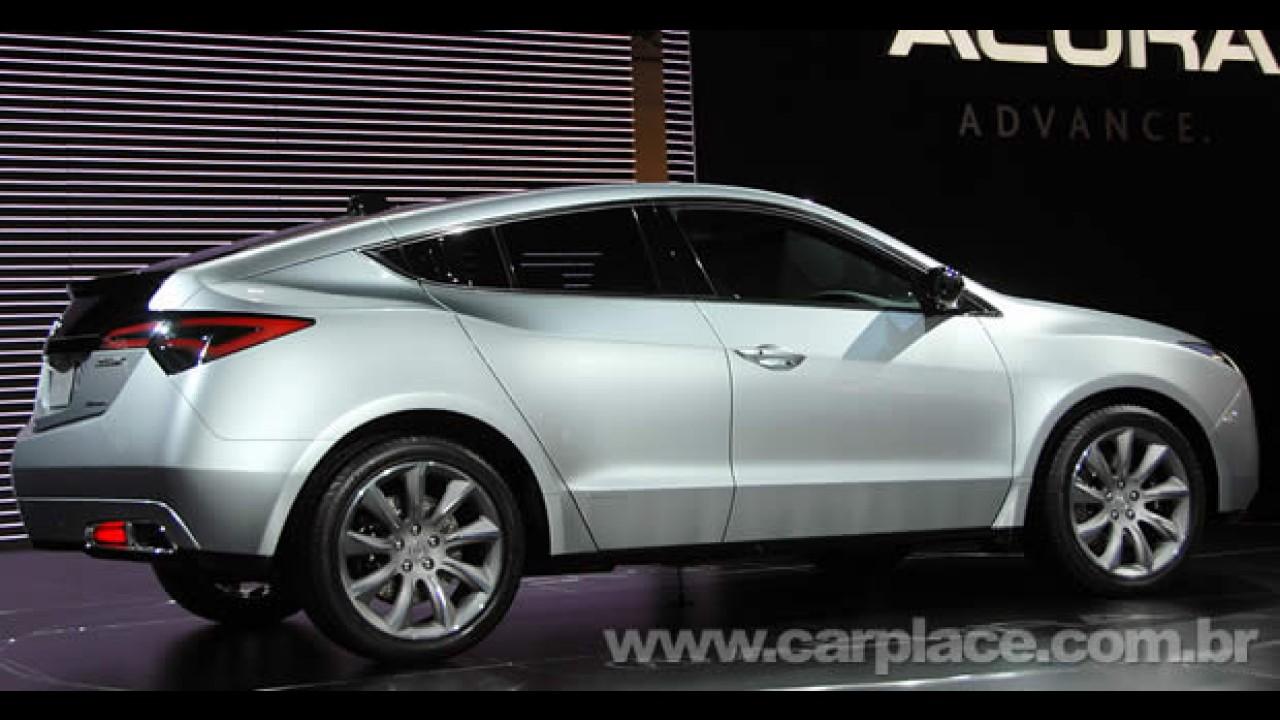 Concorrente do BMW X6: Acura apresenta o ZDX Concept no Salão de Nova York