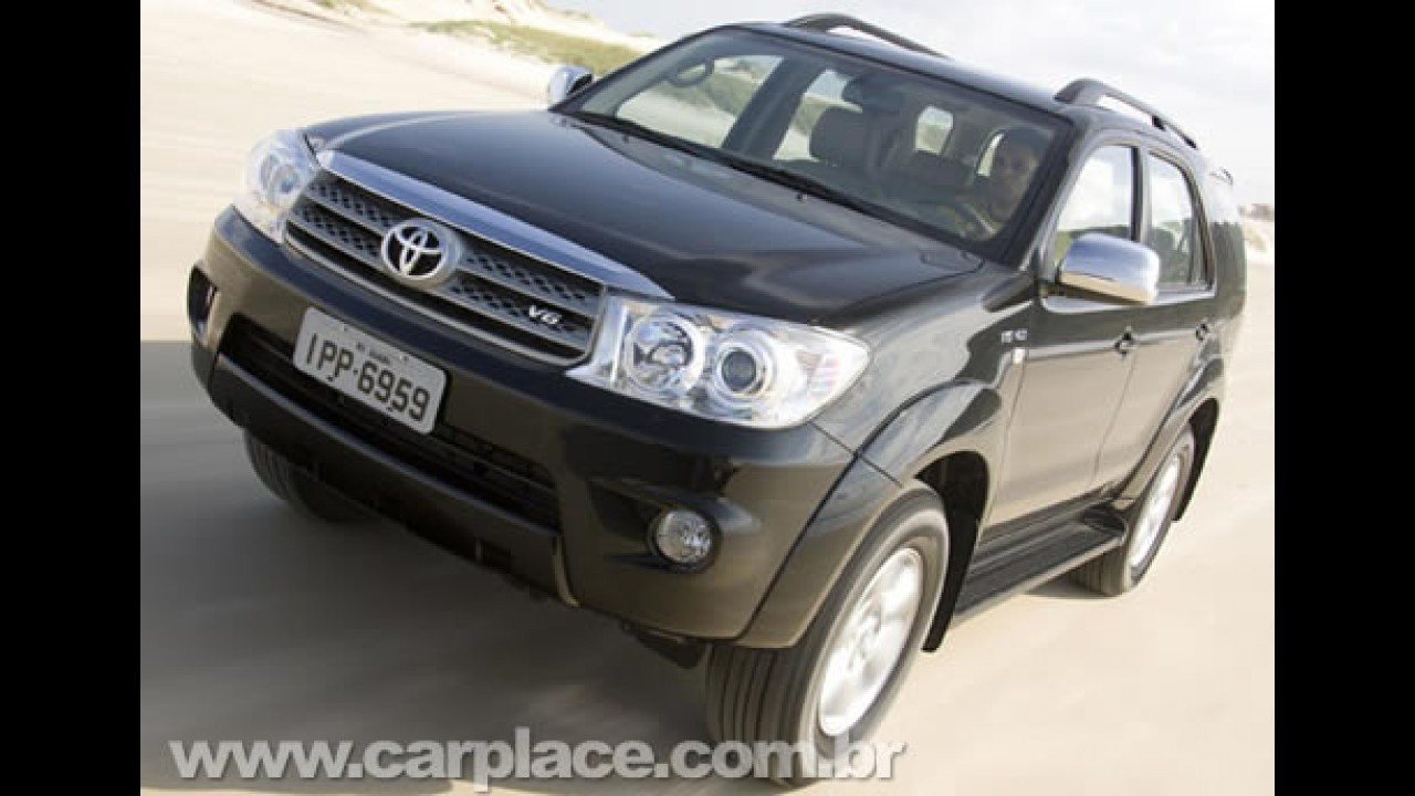 Toyota lança SW4 com motorização a gasolina com preço inicial de R$ 119.700