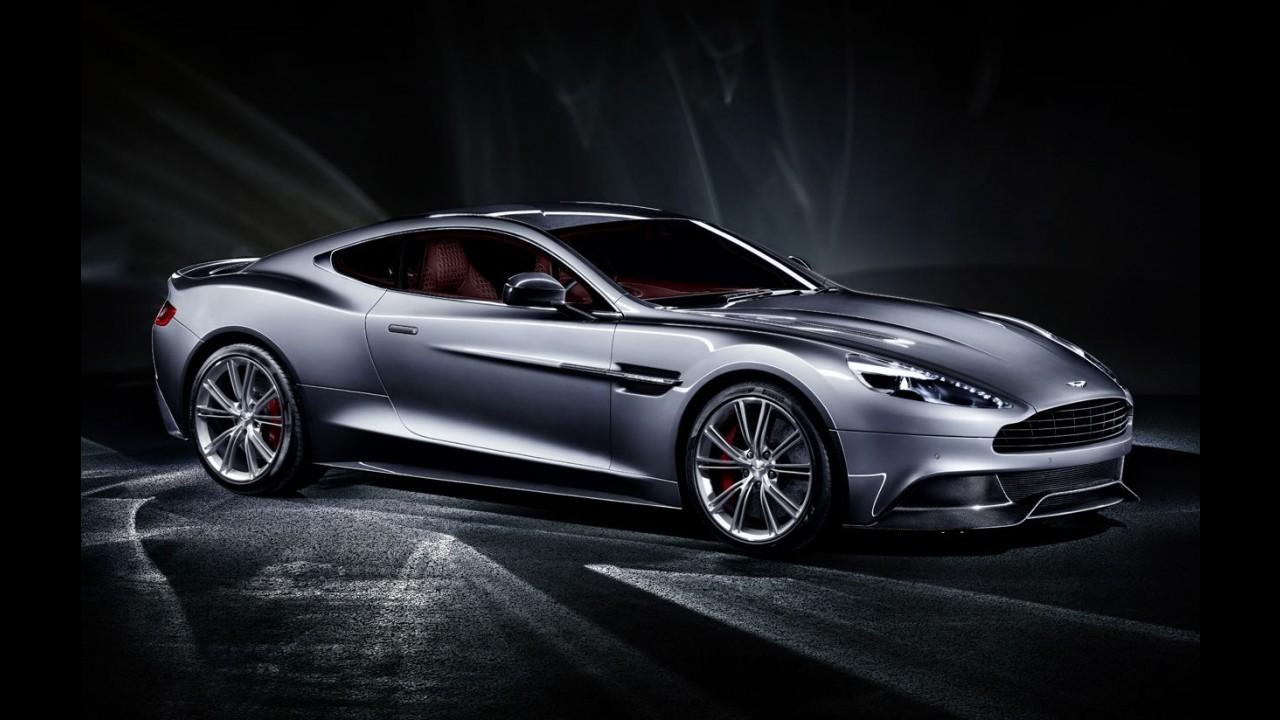 Aston Martin Vanquish é revelado completamente: Veja a galeria de fotos em alta resolução