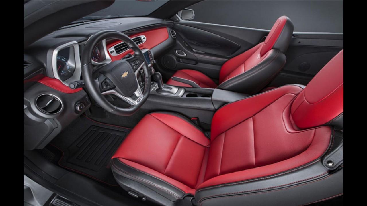 Chevrolet revela Camaro Commemorative Edition 2015