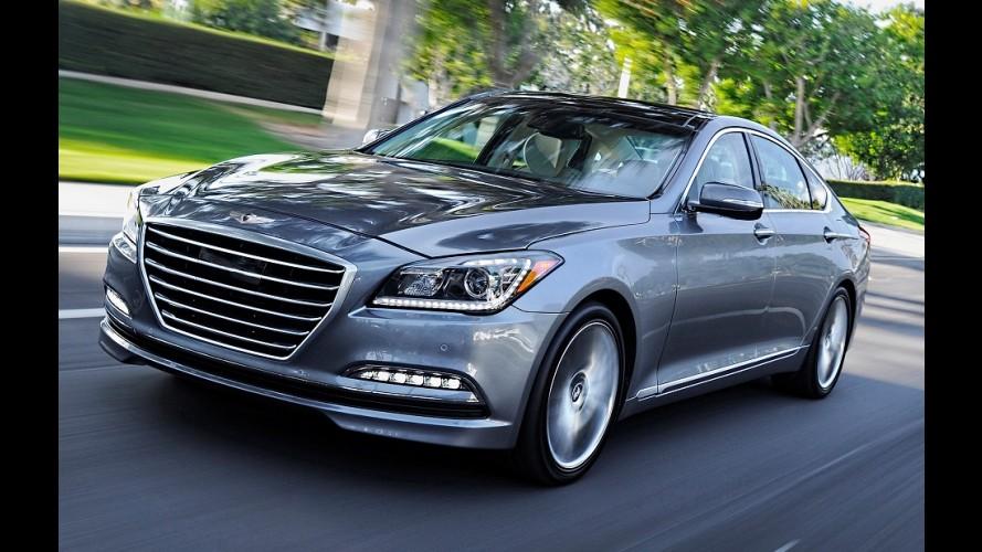 Tecnológico, Genesis 2015 reconhece radar e freia sozinho para evitar multa