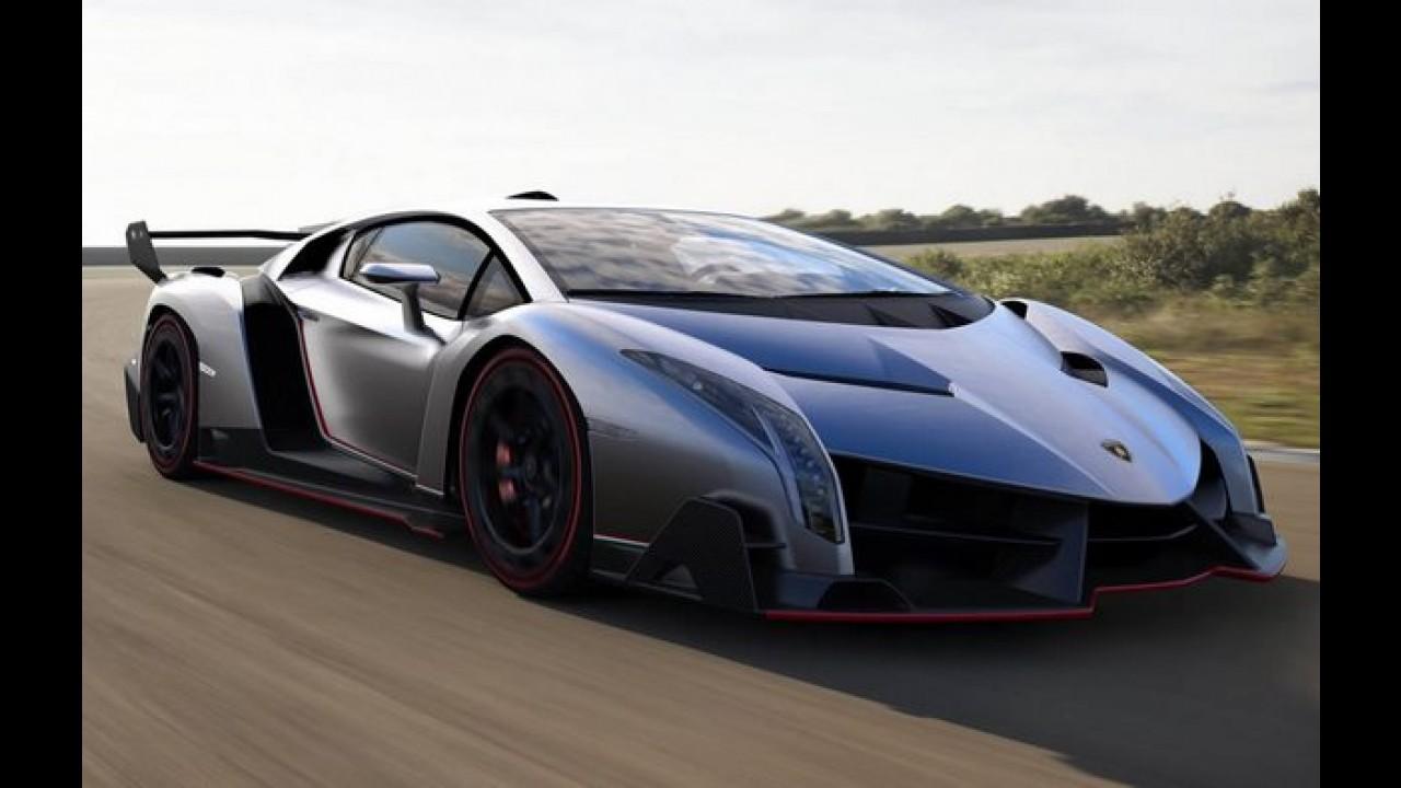 Lamborghini Confirma Veneno Roadster Preco Sera Equivalente A R 10 6 Milhoes