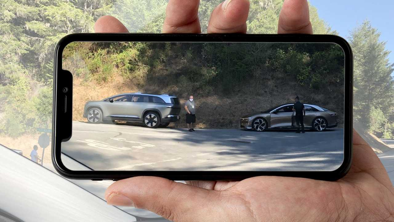 Check Lucid's SUV Way Before The Company Intended You To See It