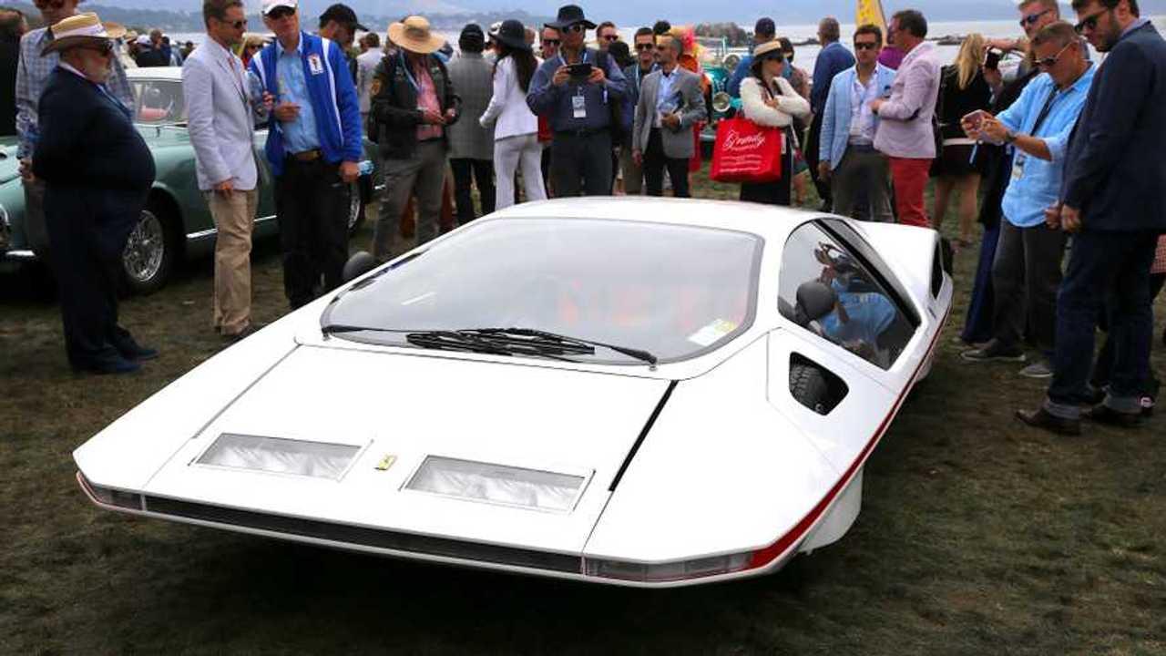 Restored Ferrari Modulo revealed at Pebble Beach concours