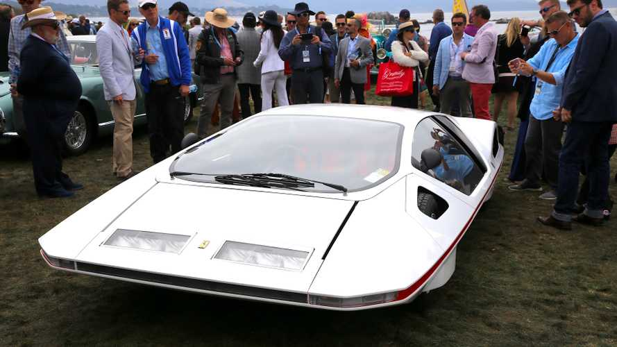 Restored Ferrari Modulo revealed at Pebble Beach concours