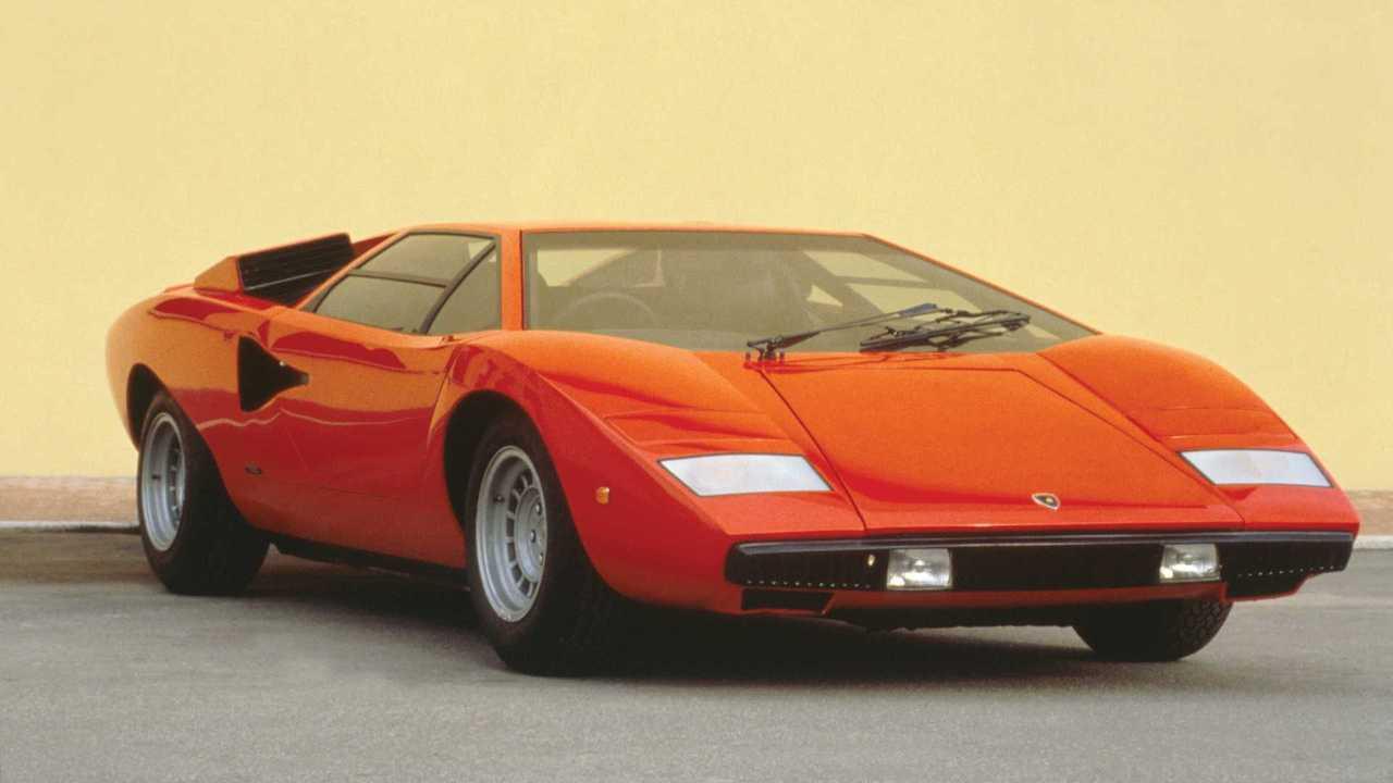 2. Lamborghini Countach