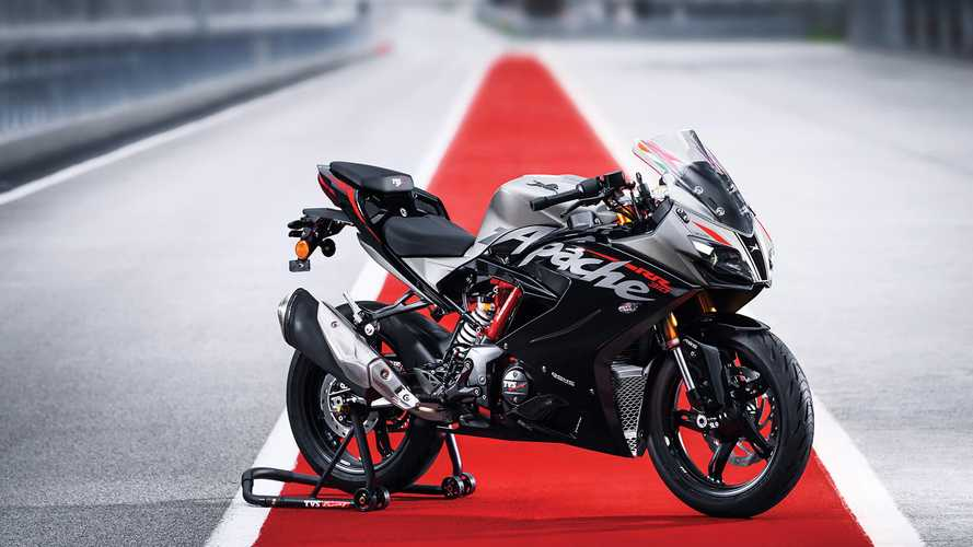 TVS Apache RR310 Gets Slapped With A Price Hike