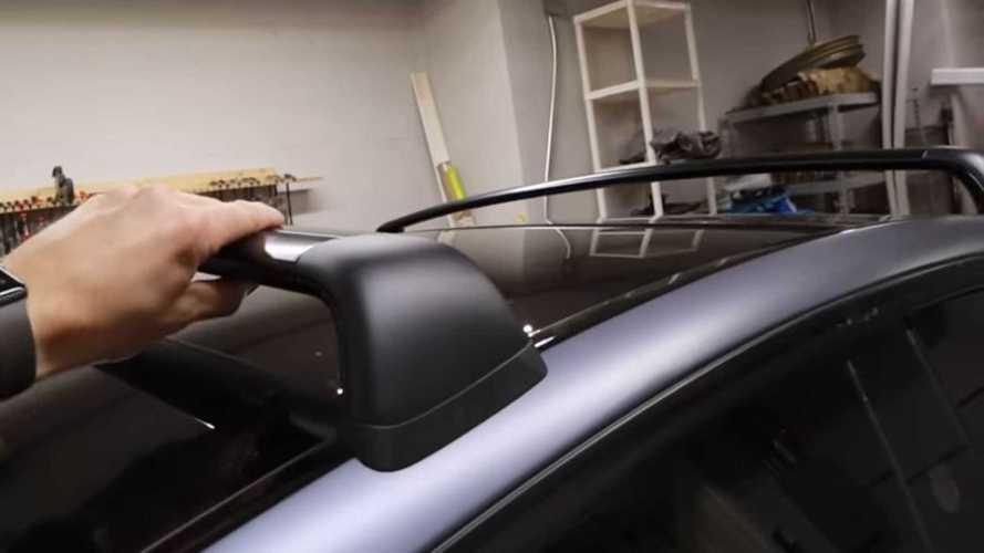 Tesla Model Y Roof Rack Efficiency Reduction Tested