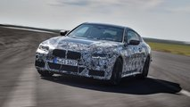 bmw 4 series camouflaged prototype videos