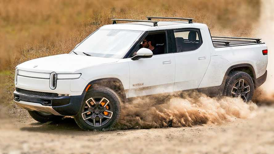 Rivian R1T Electric Truck: Building Future Tesla Cybertruck Rivals