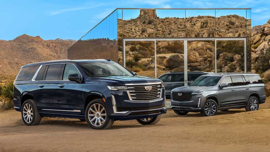 Here's The First Official Image Of The 2021 Cadillac Escalade ESV