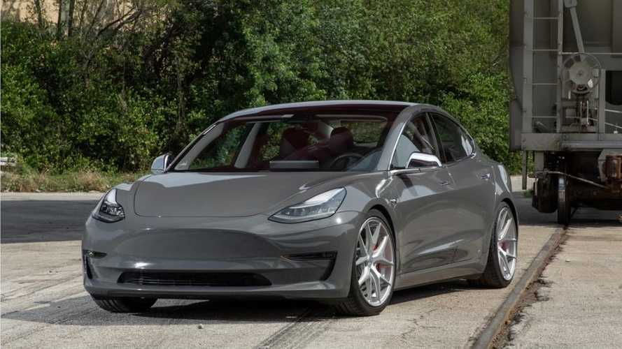Check Out This 'Nardo Gray' Tesla Model 3