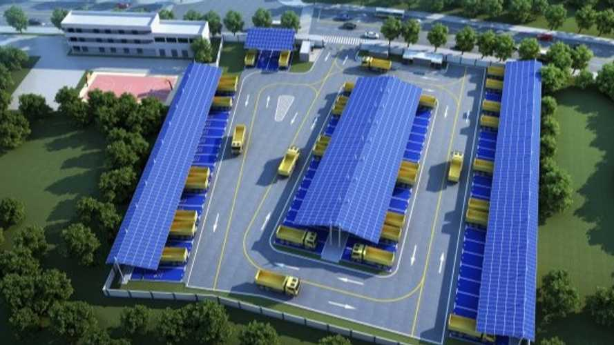 China: Shenzhen To Get Massive Charging Station For Dump Trucks