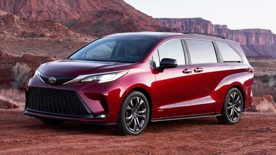 Новая Toyota Sienna стала гибридом – без альтернатив