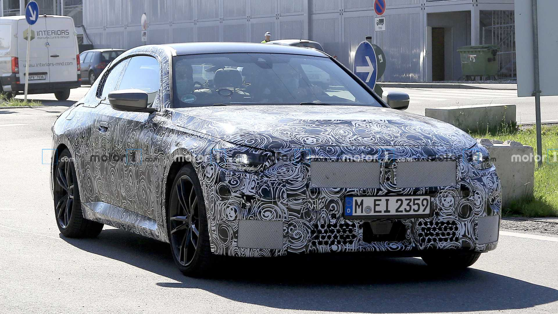 2022 - [BMW] Série 2 / M2 Coupé [G42] - Page 4 2022-bmw-2-series-coupe-spy-photo-with-final-body