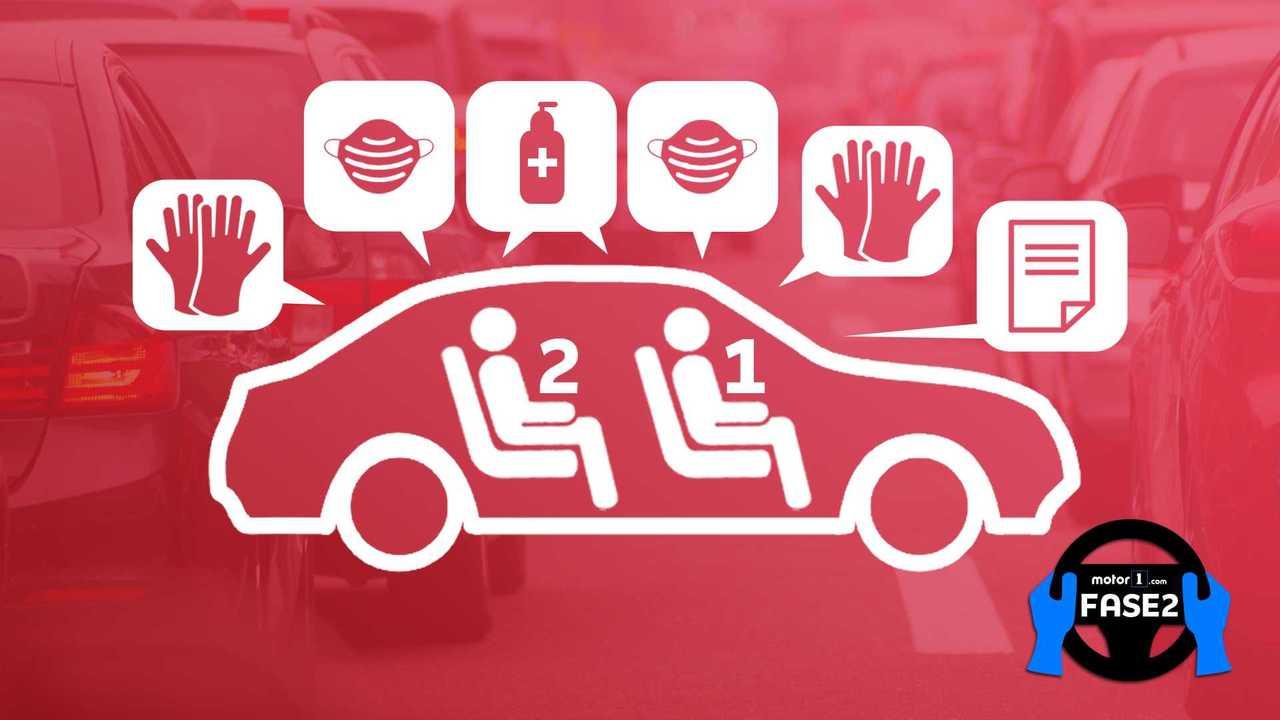 Copertina Spostamenti in Auto, 6 regole d'oro